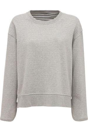 THEORY Damen Sweatshirts - Sweatshirt Aus Baumwolle