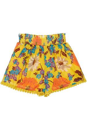 ZIMMERMANN Damen Shorts - Shorts Aus Baumwolle Mit Druck