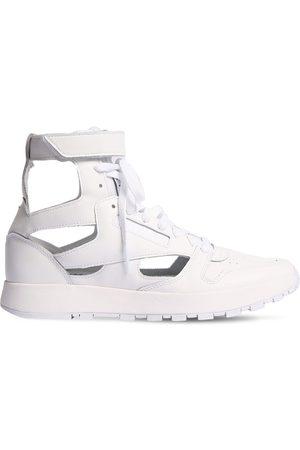 """Maison Margiela 20mm Hohe Ledersneakers """"reebok"""""""