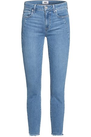 Paige Damen Skinny - Skinny Jeans Verdugo Ankle blau