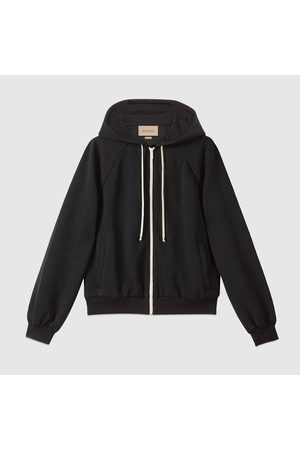 Gucci Damen Outdoorjacken - Jacke aus GG Jerseyjacquard