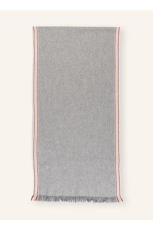 Brunello Cucinelli Herren Schals - Cashmere-Schal grau