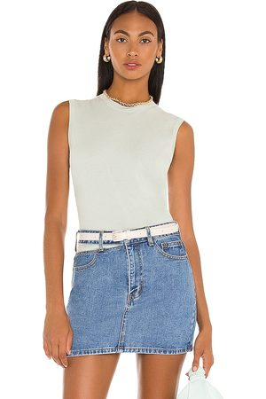ATM Anthony Thomas Melillo Sleeveless Boy Tee in - Mint. Size L (also in XS, S, M).