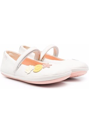 Camper Mädchen Ballerinas - Twins sea shell touch-strap flats