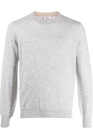 Brunello Cucinelli Herren Lange Ärmel - Long sleeve relaxed fit pullover