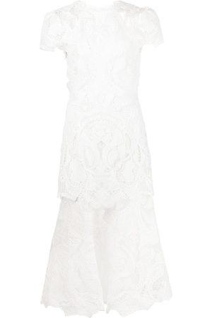 JONATHAN SIMKHAI Damen Midikleider - Cut out-detail midi dress
