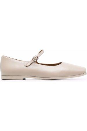 12 STOREEZ Damen Ballerinas - Square-toe ballerina shoes
