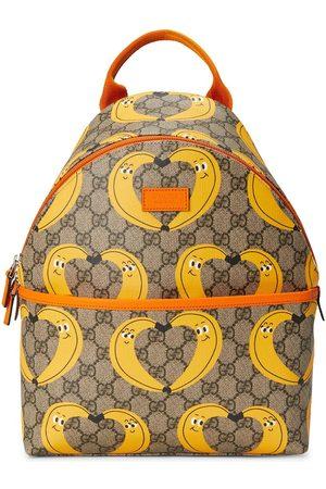Gucci Jungen Rucksäcke - X Nina Dzyvulska motif-print backpack