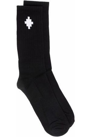 MARCELO BURLON Cross ankle-length socks