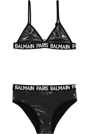 Balmain Bikini mit Logo