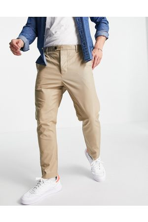 AllSaints Kato trousers in taupe-Neutral