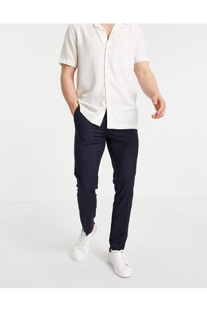 River Island Skinny smart trousers in navy