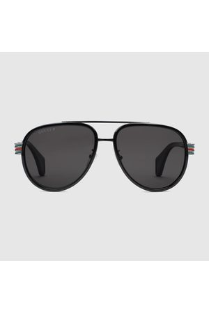 Gucci Herren Sonnenbrillen - Pilotensonnenbrille