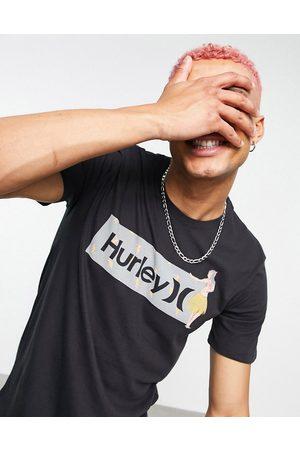 Hurley Box Windansea t-shirt in black