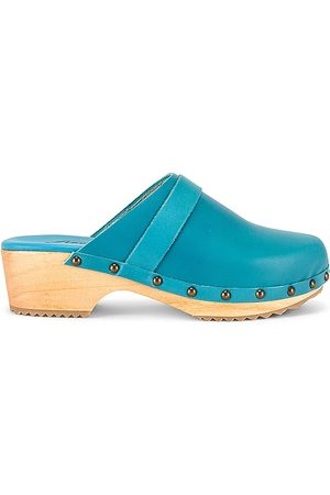 Free People Callum Clog in - Blue. Size 36 (also in 38, 39, 41, 37, 40).