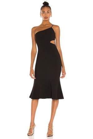 LIKELY Fina Midi Dress in - . Size 0 (also in 00, 2, 4, 6, 8, 10).