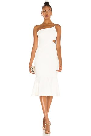 LIKELY Fina Midi Dress in - . Size 0 (also in 2, 4, 6, 8, 10).