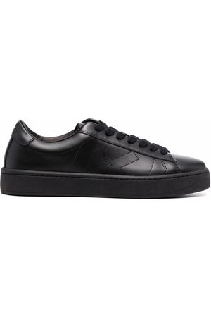 Kenzo Damen Schnürschuhe - Leather lace-up trainers