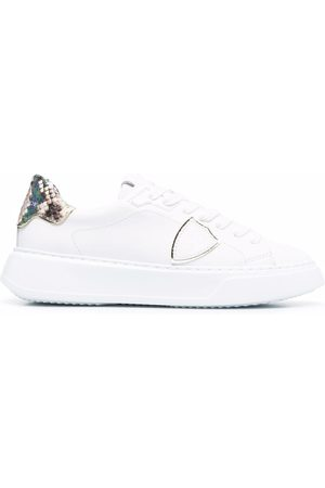 Philippe model Damen Sneakers - Temple Veau low-top sneakers