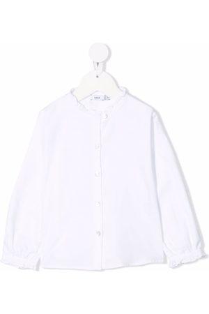 KNOT Makoto ruffle-collar blouse
