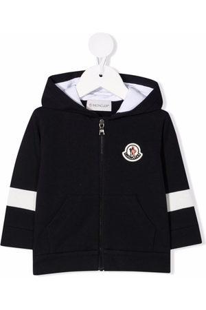 Moncler Sommerjacken - Logo-patch hooded jacket