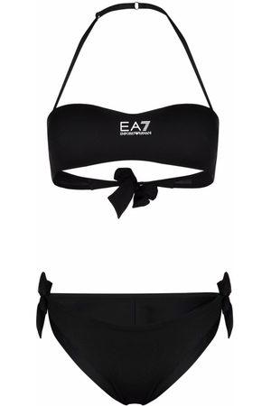 EA7 Damen Krawatten - Halterneck tie-side bikini