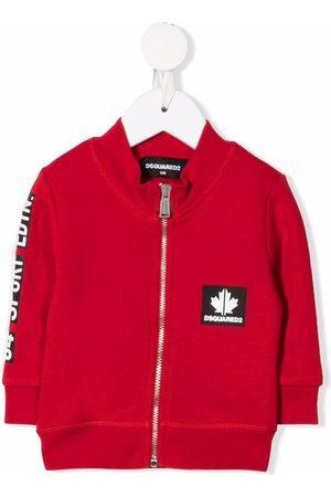 Dsquared2 Maple-leaf bomber jacket