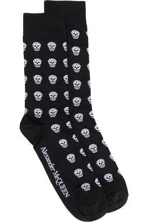 Alexander McQueen Herren Socken & Strümpfe - Skull motif socks