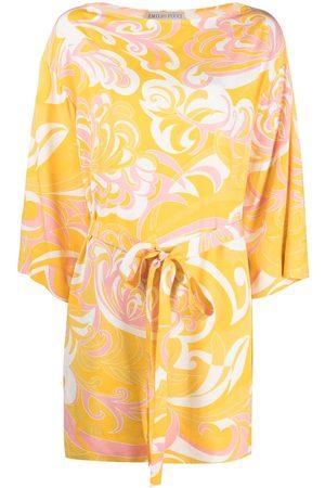 Emilio Pucci Albizia print short dress