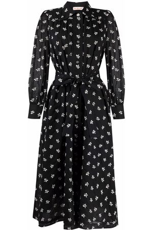Tory Burch Artist floral-embroidered dress