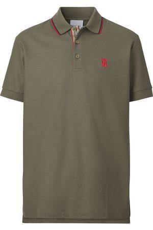 Burberry Herren Poloshirts - Monogram-motif polo shirt
