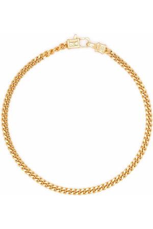 TOM WOOD Armbänder - Curb M -plated sterling silver bracelet