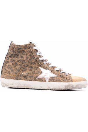 Golden Goose Damen Sneakers - Francy leopard-print sneakers
