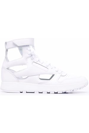 Maison Margiela X Reebok Tabi-toe lace-up high-top sneakers