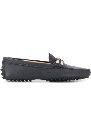 Tod's T plaque loafers