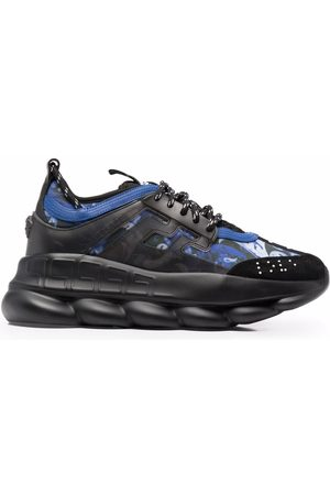 VERSACE Chain Reaction low-top lace-up sneakers