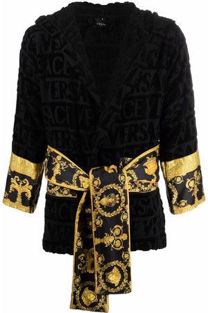 VERSACE Damen Bedruckte Kleider - Barocco-print cotton robe