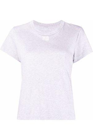 Alexander Wang Logo-detail short-sleeved T-shirt