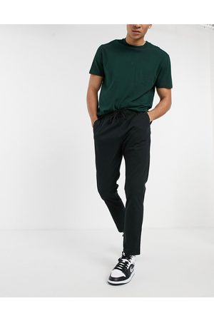 ASOS Skinny chinos with elastic waist in