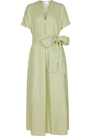 Lisa Marie Fernandez Damen Lange Kleider - Maxikleid Rosetta aus Leinen
