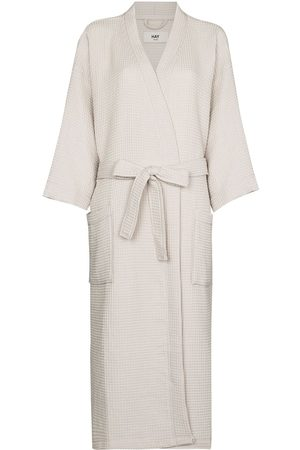 Hay Damen Lange Kleider - Waffle long bathrobe