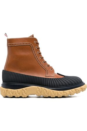 Thom Browne Covered outsole wingtip boots