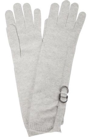 Brunello Cucinelli Damen Handschuhe - Verzierte Handschuhe aus Kaschmir