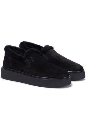 Prada Damen Sneakers - Sneakers Macro aus Veloursleder