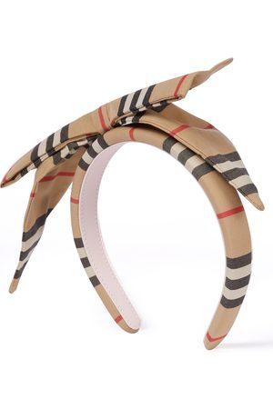 Burberry Mädchen Haarschmuck - Haarband Icon Stripe aus Baumwolle
