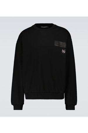 Dolce & Gabbana Herren Sweatshirts - Bedrucktes Sweatshirt aus Baumwolle