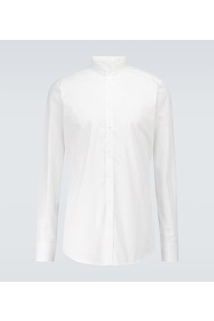 Dolce & Gabbana Herren Lange Ärmel - Bedrucktes T-Shirt aus Baumwolle