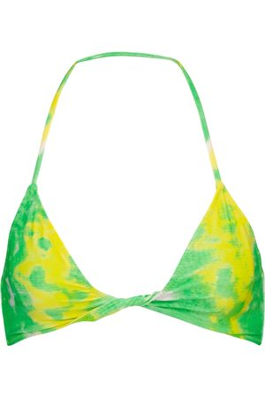 Ganni Bedruckter Bikini