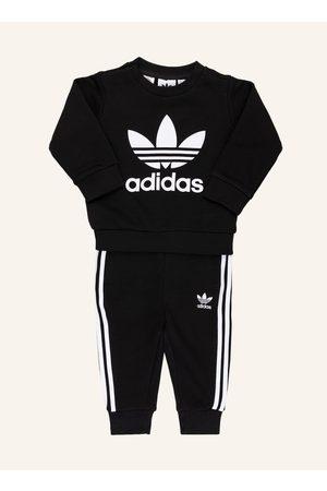adidas Herren Sweatshirts - Set: Sweatshirt Und Sweatpants