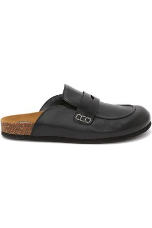 J.W.Anderson Damen Halbschuhe - Leather loafer mules